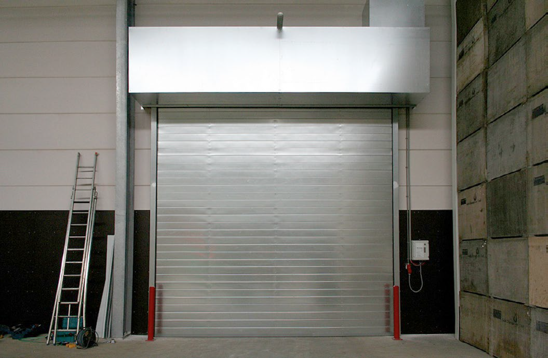 Fire Rated Rolling Shutter Brsystem